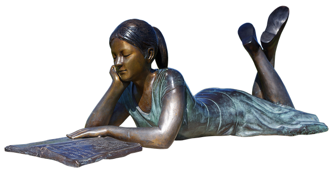 Girl, Woman, Statue, Sculpture, Bronze, Figure, Beauty