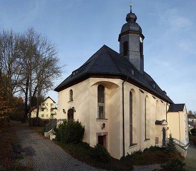 Building, Church, Steeple, Religion