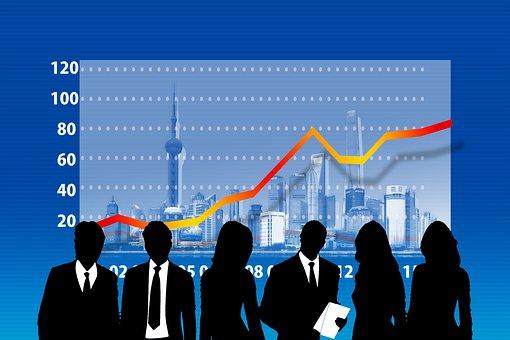 Businessmen, Statistics, Success, Curve, Success Curve