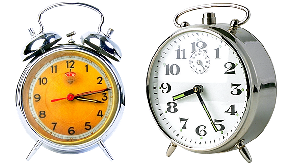 Alarm Clock, Time, Clock, The Minute Hand