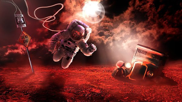 Space, Astronaut, Travel, Cosmonaut, Spaceman, Sky