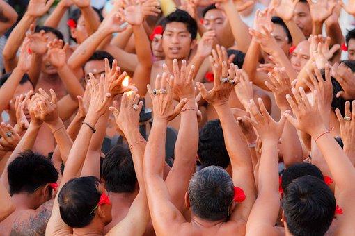 Hands, Bali, Uluwatu, Dance Sideshow, Bali Dance