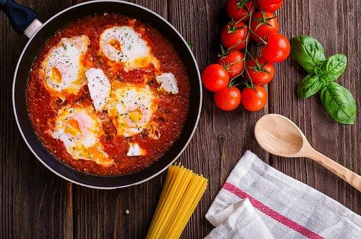 Kagyana, Strapatsada, Gdarta, Shakshuka, Eggs, Tomato