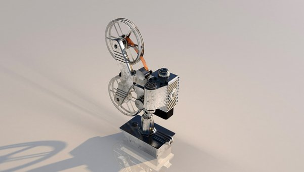 Projector, Film, Coil, Filmstrip, Movie Set