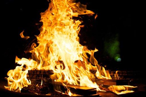 Fire, Bonfire, Heat, Flames, Hot