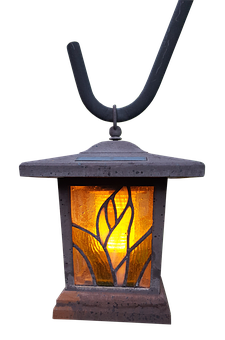 Hanging Lamp, Lamp, Tiffany, Glass, Colorful, Light