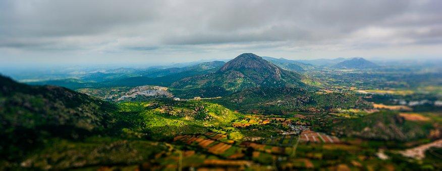 Hill, Mountain, Landscape, Nature, Peak