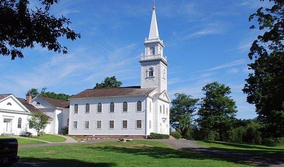 Church, Sky, East Haddam, Building, God, Holy