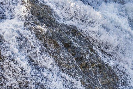 Waterfall, Water, Drop Of Water, Nature, Waterfalls