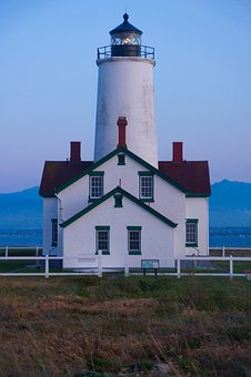 New Dungeness Lighthouse, Lighthouse, Beacon, Coastline