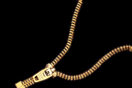 Zip, Closure, Zipp, Open, Close, Make To, Metal, Zipper