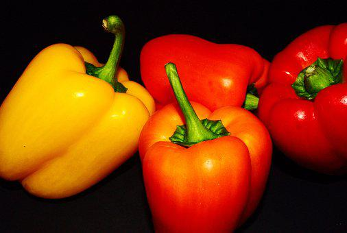 Paprika, Food, Raw, Peppers, Vegetable, Healthy, Fresh