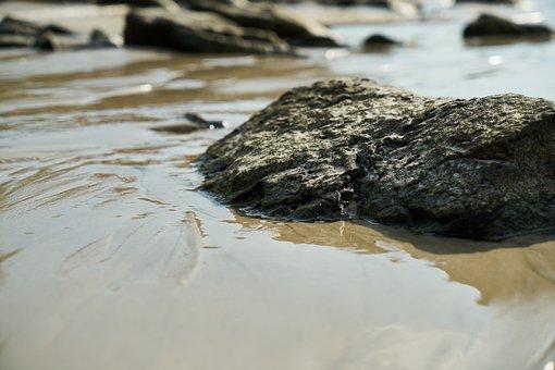 Water, Sand, Marine, Kennedy, Rocky, Nature, Beach
