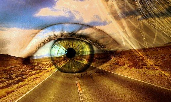 Desert, Landscape, Road, Highway, Travel, Sky, Clouds
