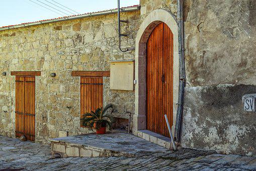 Old House, Street, Architecture, Exterior, Stone Built