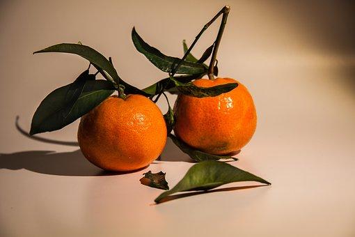 Tangerines, Tropical Fruits, Fruits, Vitamins, Healthy