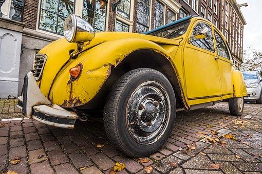 Retro Car, Citroen, Retro, Car, Vintage, Classic