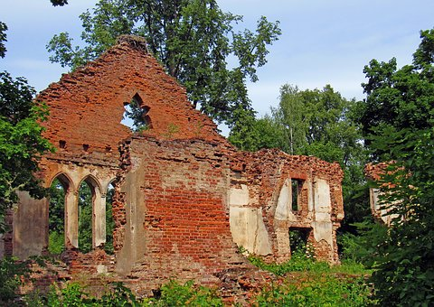 Vintage, The Ruins Of The, Wall, History