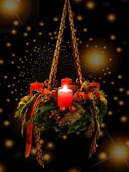 Advent, Christmas Time, Advent Wreath, 1advent