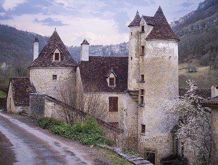 Mansion, Castle, Medieval, Architecture, Building, Old