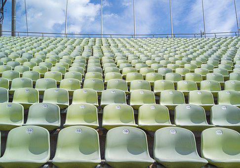 Stadium, Sport, Grandstand, Competition, Chairs