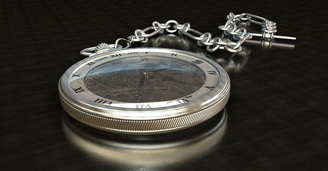 Pocket Watch, Clock, Movement, Dial, Wind Up, Nostalgia