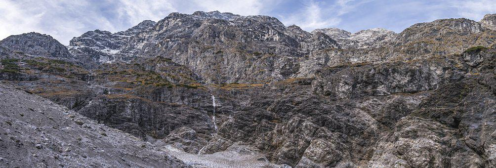 Watzmann East Face, Watzmann, East Wall, Alpine