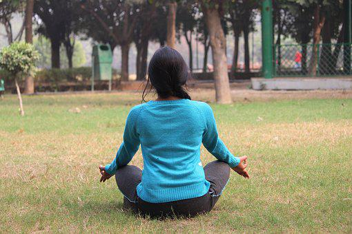 Meditation, Girl, Yoga, Health, Female, People