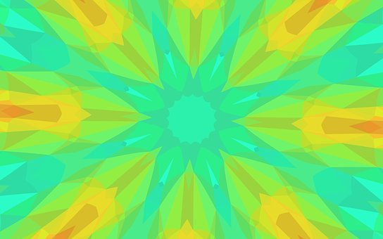 Kaleidoscope, Kaleidoscope Background, Graphic