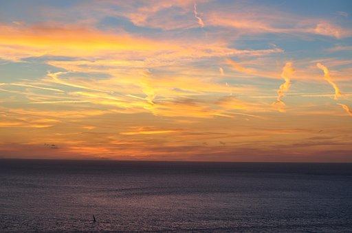 Ibiza, Beach, Sunset, Sand, Sun, Landscape, Sea, Spain