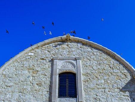 Cyprus, Maroni, Church, Orthodox, Architecture, Window
