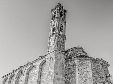 Cyprus, Maroni, Church, Orthodox, Architecture