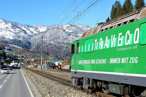 Pull Station, Speed, Highway, Travel, Rails, Railway
