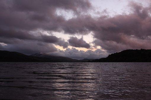 Lake, Moody, Nature, Water, Landscape, Reflection