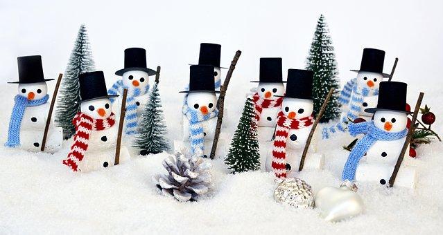 Snow Man, Winter, Snow, Cold, Wintry, Fun, Figure