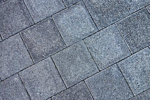 Pavement, Sidewalk, Tiles, Paving, Concrete, Stone