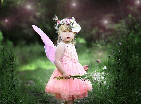 Kids, Story, Fairy, Magic, Girl, Joy, Nature, Forest