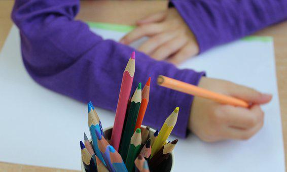 Child, Drawing, Coloring, To Draw, To Color, Figure