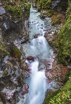 Marx Gorge, Magic Forest, Bach, Clammy, River, Water