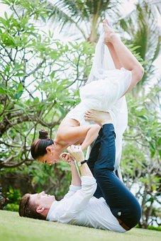 Yoga, Yoga Couple, Couple, Pre Wedding, Photoshoot