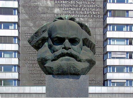 Karl Marx Ensemble, Monument, Bridge Road, Chemnitz