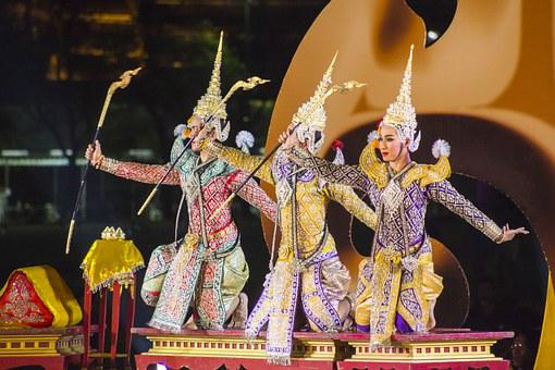 Khon, As The High Arts Of Thailand, Mrs Dances, Rama
