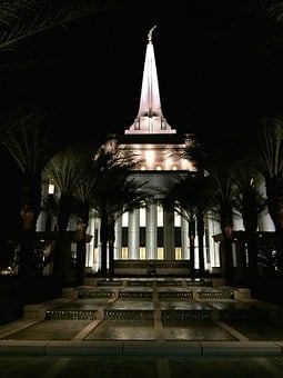 Temple, Lds, Mormon, Religion, Church, Architecture