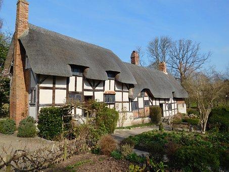 Mary, Arden, Cottage, Shakespeare, Stratford Upon Avon