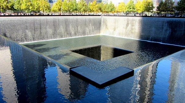 World Trade Center Memorial, September 11 2001, 9 11