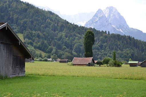 Allgäu, Garmisch, Alpine, Mountain, Landscape
