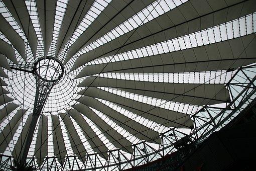 Sony Center, Potsdam Place, Architecture, Berlin