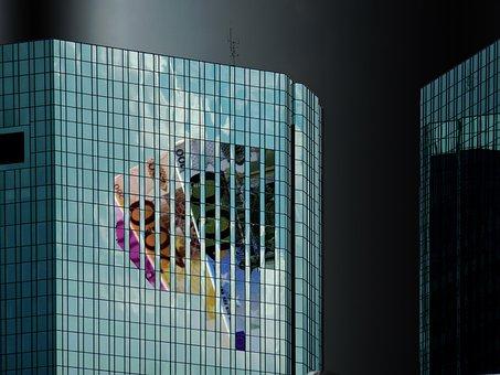 Bank, Bank Building, Skyscraper, Frankfurt
