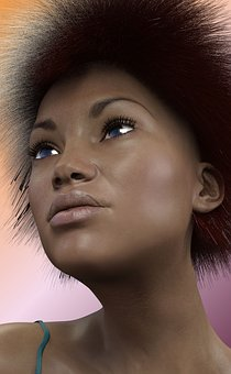 Woman, Hair, Hairstyle, Afro, Female, Beautiful, Beauty