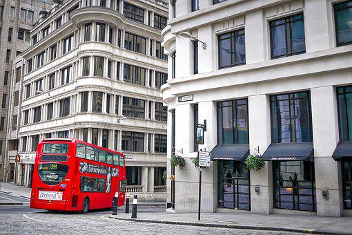 London, Red, Bus, Double Decker, England, Traffic